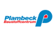 Logo: Plambeck Baustoffcentrum