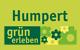 Logo: Humpert grün erleben