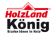Logo: Holzland König
