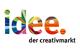 Logo: idee. Creativmarkt