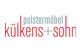 Logo: külkens+sohn Polstermöbel