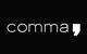 comma, Prospekte