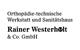 Logo: Orthopädie-technische Werkstatt und Sanitätshaus Rainer Westerholt & Co. GmbH