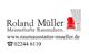 Logo: Roland Müller Raumausstattung