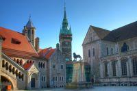 Braunschweig, Shopping, Einkaufen, Rathaus, Löwenstadt, Schlossarcaden, Residenzschloss, Niedersachsen